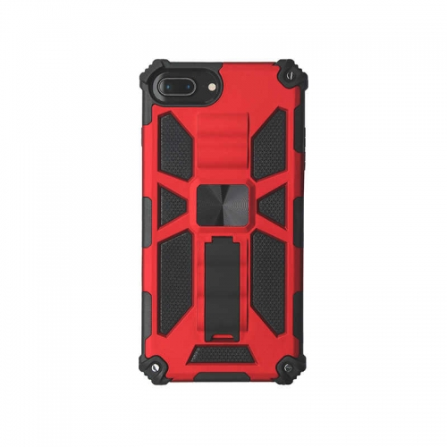 Shockproof Protective Phone Case With Kickstand For iPhone 6/6S/7/8/SE 2020 Red