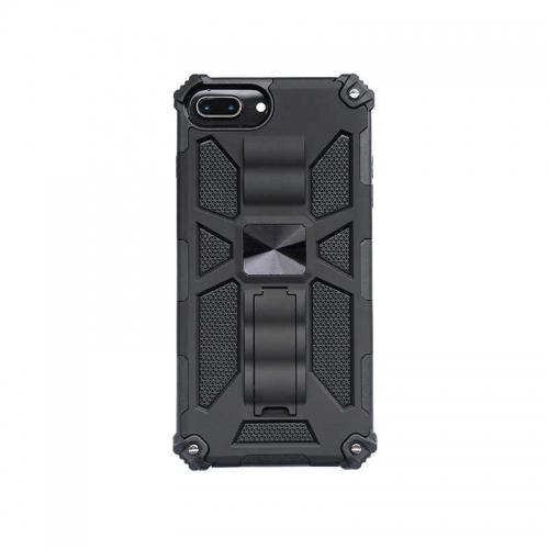 Shockproof Protective Phone Case With Kickstand For iPhone 6/6S/7/8/SE 2020 Black