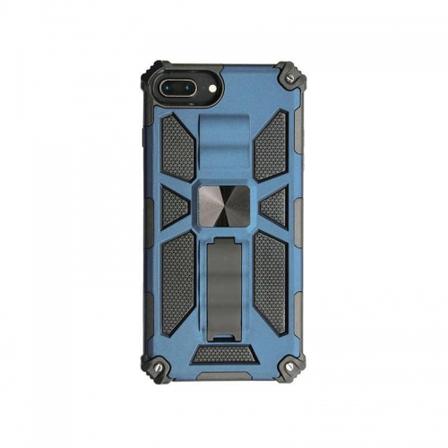 Shockproof Protective Phone Case With Kickstand For iPhone 6/6S/7/8/SE 2020 Blue