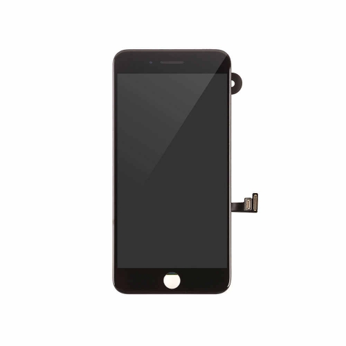 LCD Display and Touch Screen Digitizer Assembly with Frame and Components Replacement For Apple iPhone 7 Plus- Black-AA