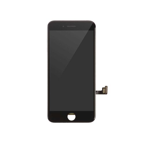 LCD Display and Touch Screen Digitizer Assembly With Shield Plate Replacement For Apple iPhone 8- Black-AA
