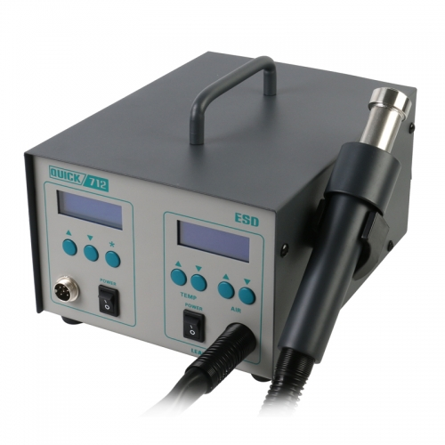 QUICK 712 2 in 1 soldering station (861DW + 203H) Specialfor mobile phone repair