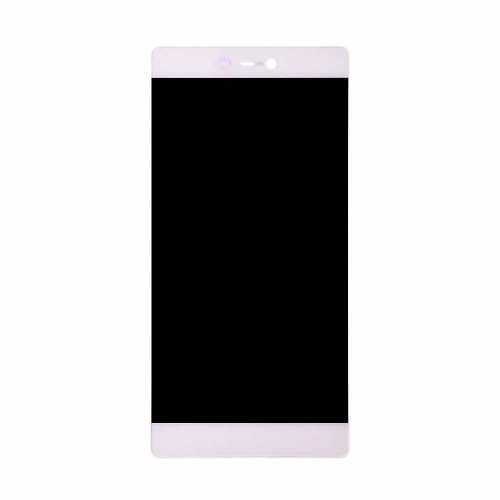 LCD Display and Touch Screen Digitizer Assembly with Frame Replacement For Huawei P8 - White-AA