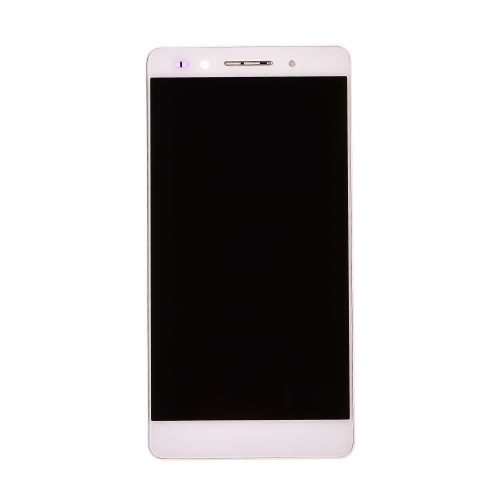 LCD Display and Touch Screen Digitizer Assembly With Frame Replacement For Huawei Honor 7 - White - AA