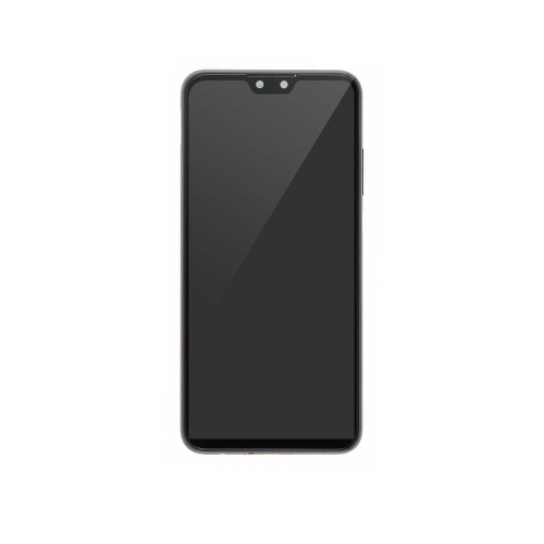 LCD Display and Touch Screen Digitizer Assembly with Frame Replacement For Huawei Y9 (2019) - Black - OEM NEW