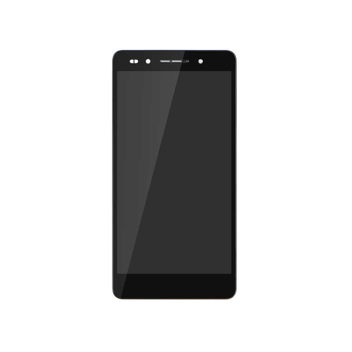 LCD Display and Touch Screen Digitizer Assembly with Frame Replacement Huawei Honor 7 - Black - AA Grade